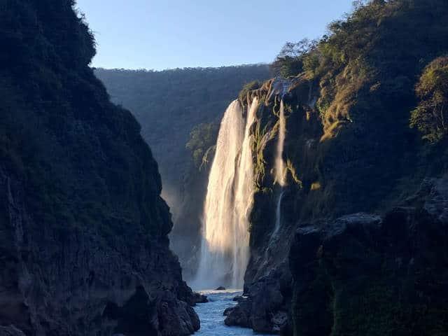Cascada de Tamul en la Huasteca Potosina