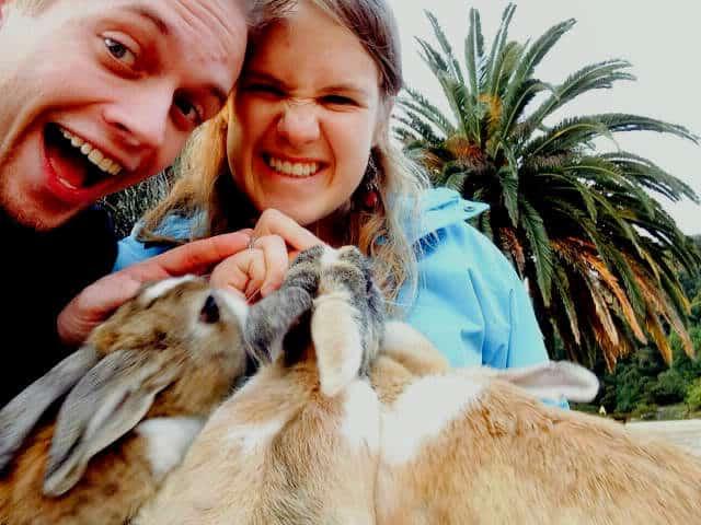 isla conejo turistas