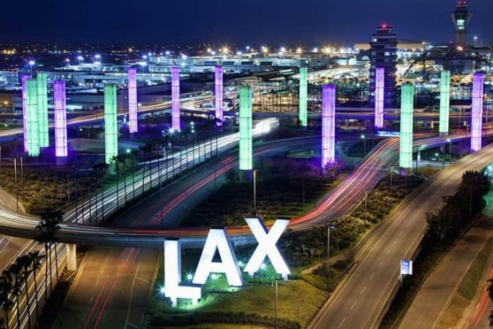 Ciudades con más aeropuertos, lax