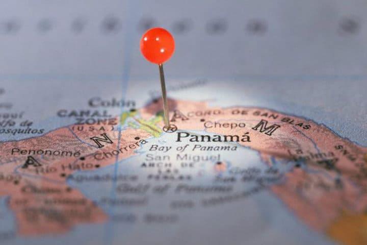 Panamá en el mapa mundial. Foto: Archivo