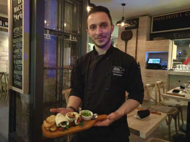 pan di bacco chef Marco