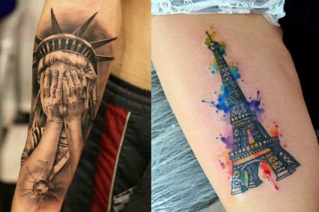 Galería Tatuajes De Destinos Que Dejaron Marca