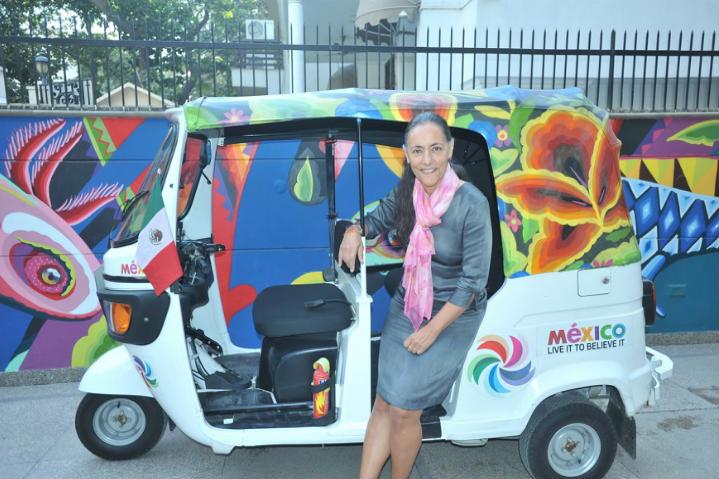 triciclo motorizado en india