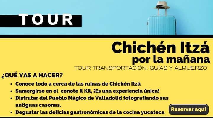 Tour Chichen Itzá por la mañana para evitar multitudes. Arte el Souvenir