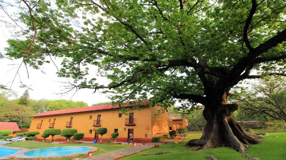 El Hotel Misión Concá en Querétaro. Foto: cronicagto.com