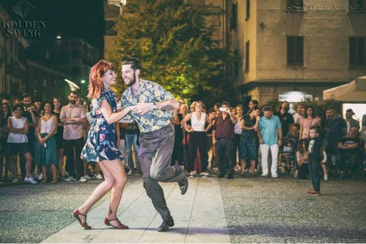 Golden Swing Society fue el encargado del show.Foto.Vivimilano.2