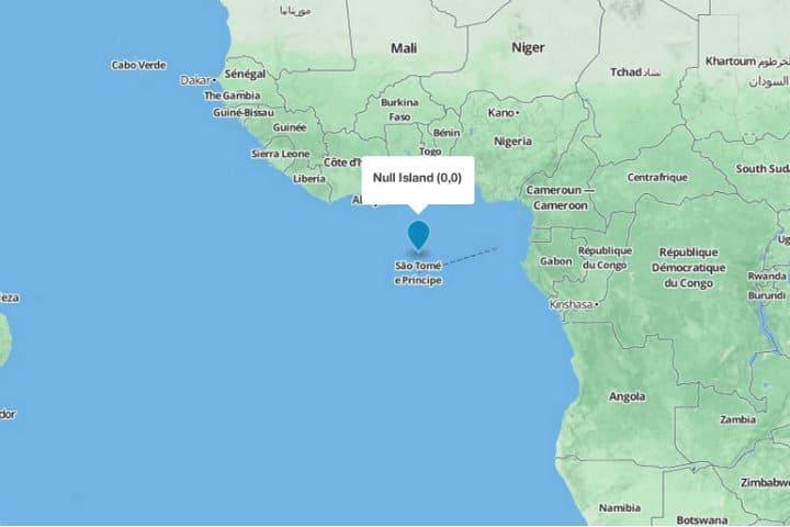 Null Island la isla que no existe