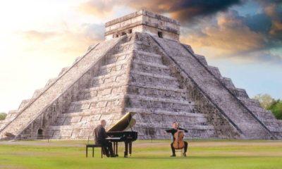 Serenata a la pirámide de Chichén Itzá. Portada. Imagen. Archivo
