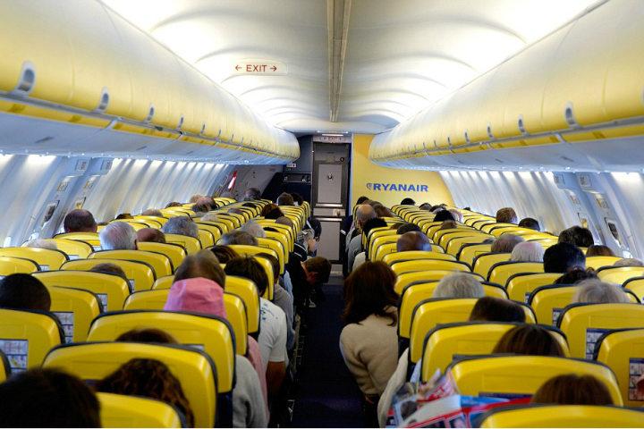 Un show sorpresa para un gran vuelo. Foto. Daily Mail