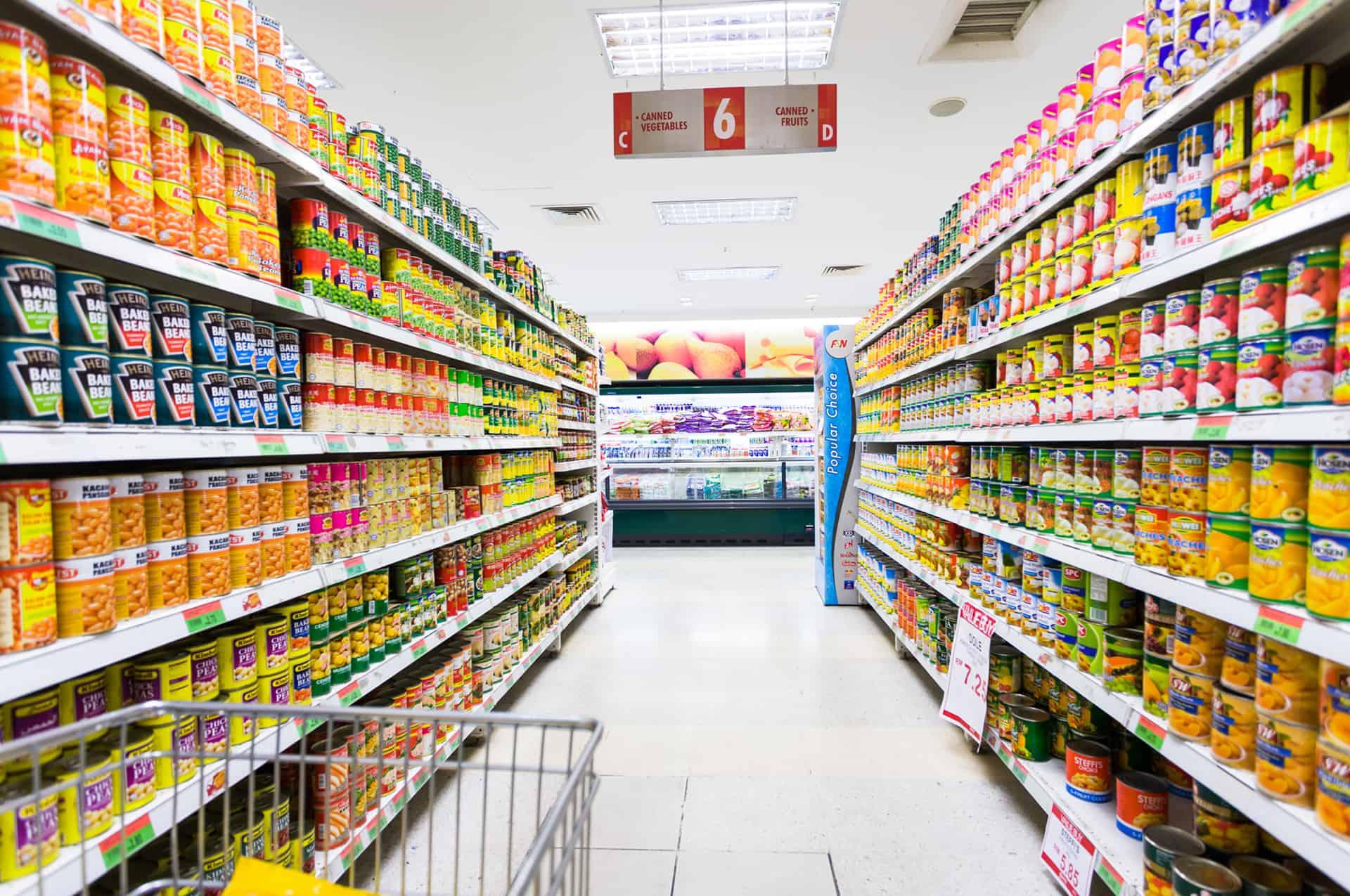 Puntos en supermercados. Foto: Archivo