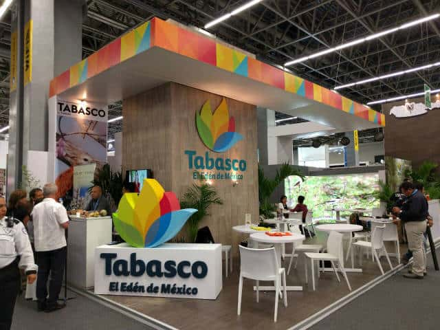 tabasco stand