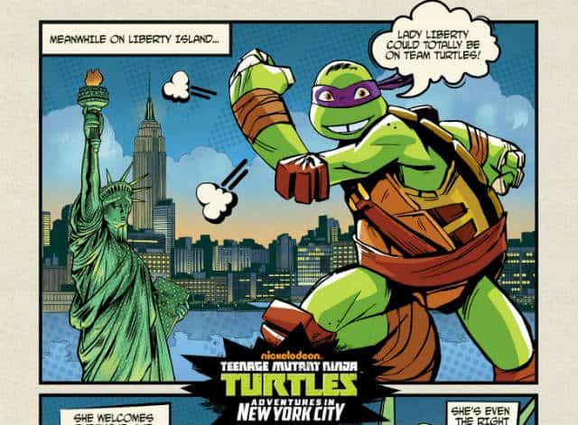 tortugas ninja Nickelodeon NYC