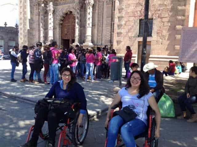 Personas con discapacidad. Foto: Archivo