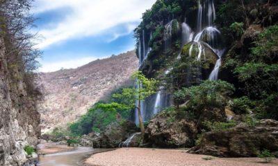 Cascada el Aguacero. Foto por OTISA