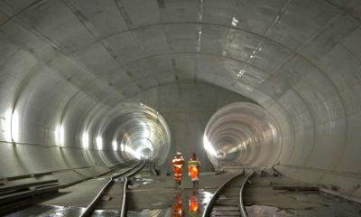 El túnel más largo del mundo. Foto: interempresas.net