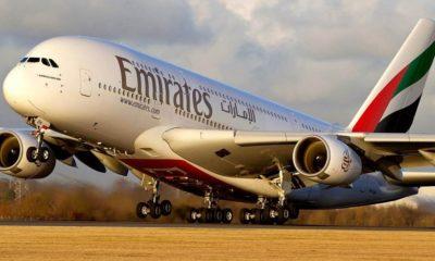 Emirates airlines. Foto: lasillarota.com
