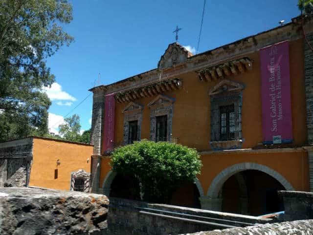 Fachada de la hacienda. Foto: Archivo
