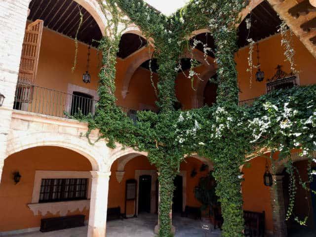 Interior de la hacienda. Foto: Archivo