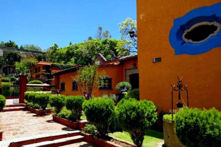 Hacienda San Gabriel en Guanajuato. Foto: Archivo