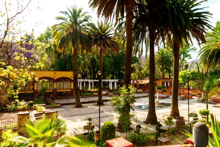 Jardín de la hacienda. Foto: MXCity