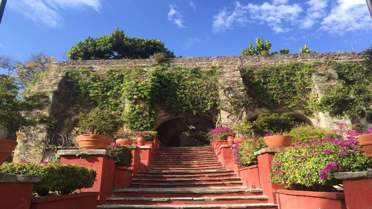 La ex hacienda de San Gabriel. Foto: pinterest.fr