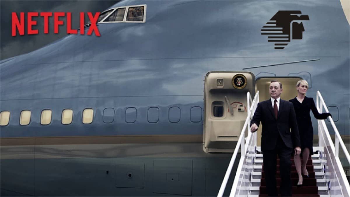 Netflix en avión. Foto: launion.com.mx
