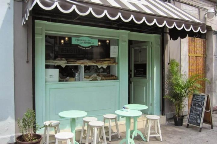 Panadería Fournier Rousseau. Foto. Stanza Hotel