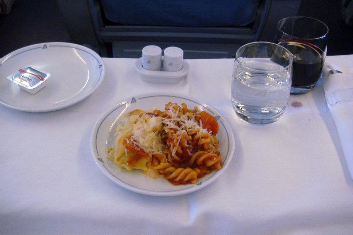 Qué más se puede pedir a parte de la comida italiana.Foto.Joe Nazarian.2