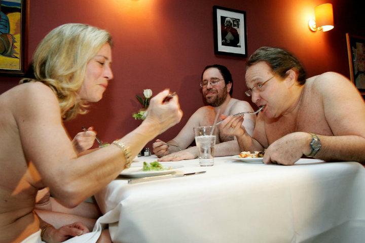 Restaurante nudista Amrita. Foto. Lasexta