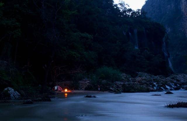 el aguacero camping