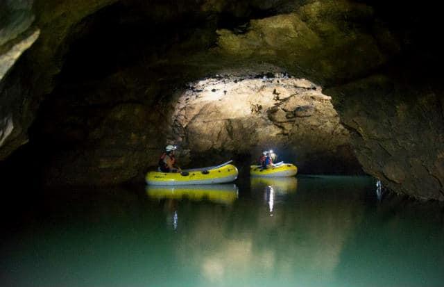 el aguacero gruta