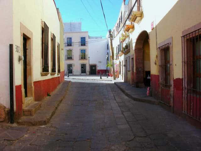 zacatecas calles foto Carlos Enrique Lopez