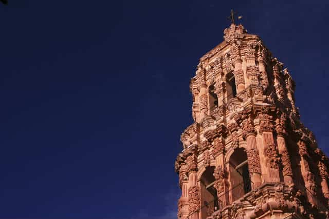 zacatecas torre catedral