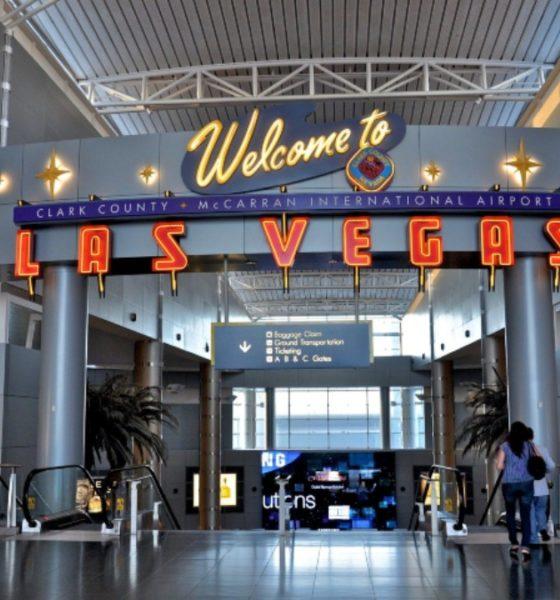 Aeropuerto de Las Vegas. Foto: Aeropuerto Internacional McCarran