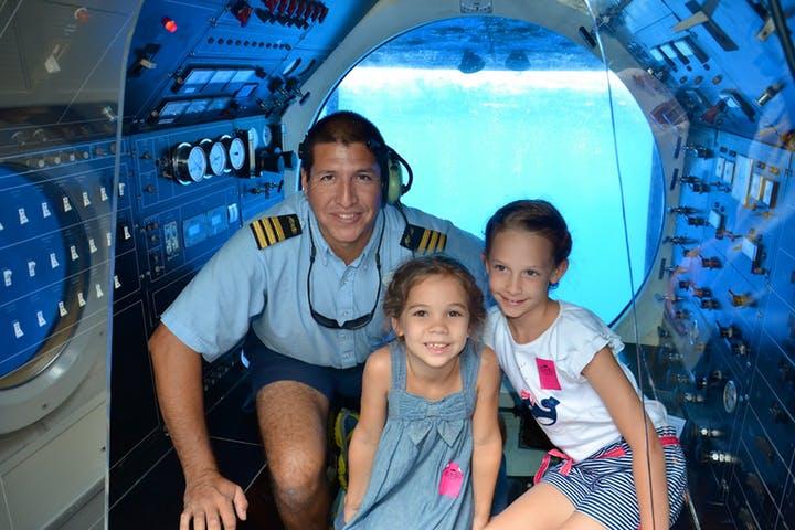 Tours Cancún Foto: Atlantis-Submarine-Pilots