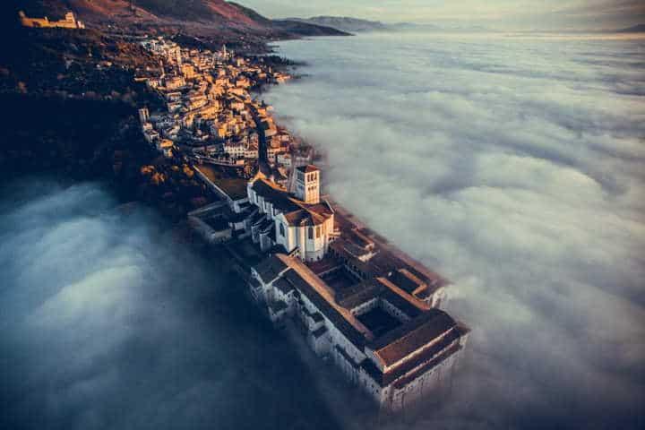 Espectaculares fotos desde un dron. Foto: Dronestagram