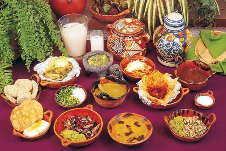 Gastronomía Tlaxcalteca. Foto Food and Travel México.