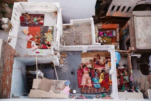 Sueños de azotea, Varanasi por Yasmin Mund
