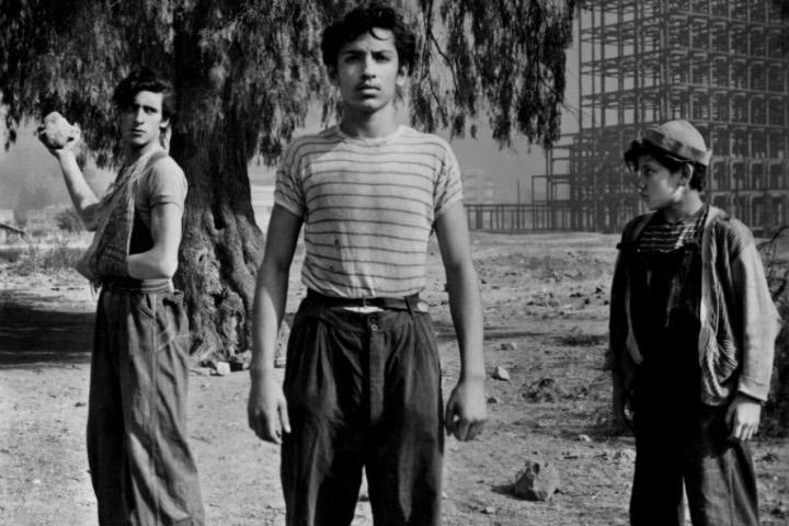 Película los Olvidados en barrio la Romita. Foto: De10