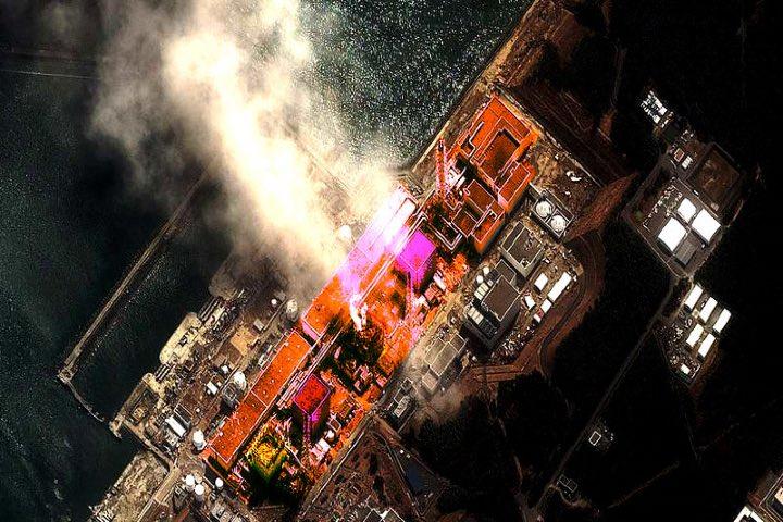 Planta nuclear de Fukushima. Foto: DeivCrist