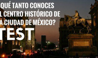 Quiz centro histórico CDMX. Portada. Imagen. Archivo