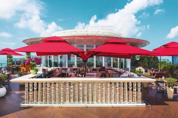 Restaurante Cé La Vi. Foto: marianabaysands.com