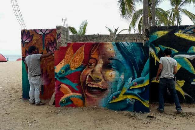 San Pancho arte graffiti