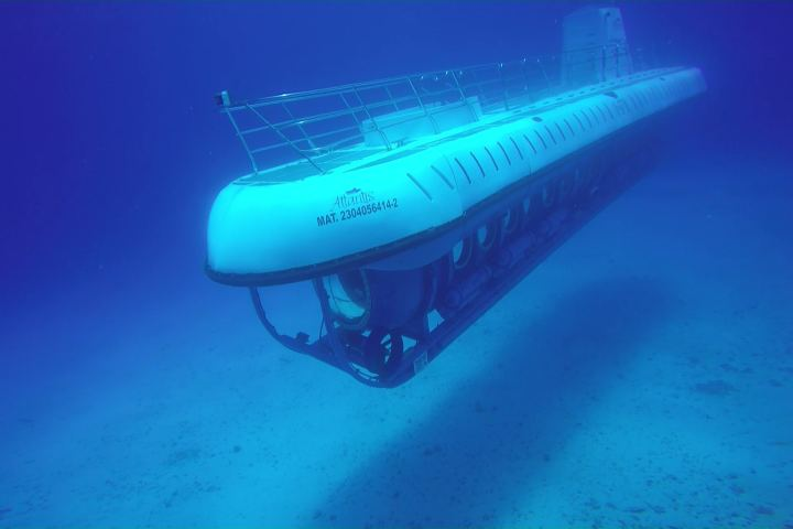 Submarine Atlantis en Cozumel