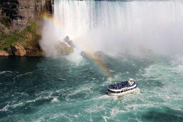 Tirolesa en las Cataratas del Niagara. Foto Kate Kraverska