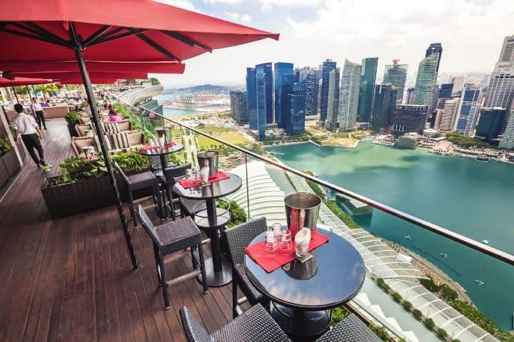 Un restaurante de lujo. Foto: luxrytravelmag.com.au