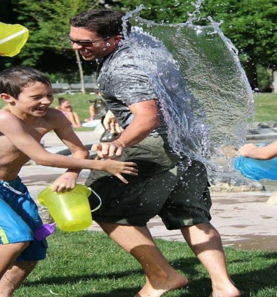 Vacaciones de verano para niños. Foto: rudyanderson