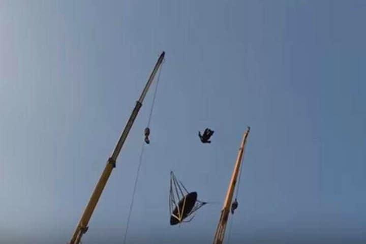Vídeo: Catapulta Humana en Dubai. Foto: elconfidencial.com