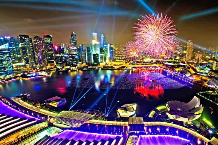 Una hermosa vista de Singapur. Foto: Archivo