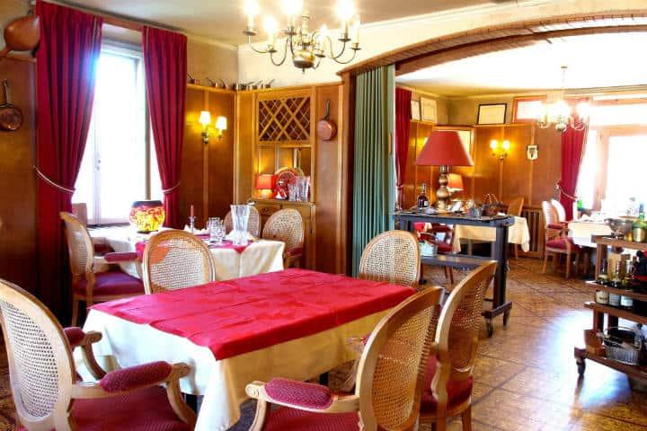 Comedor Hotel Arbez. Foto: Archivo.
